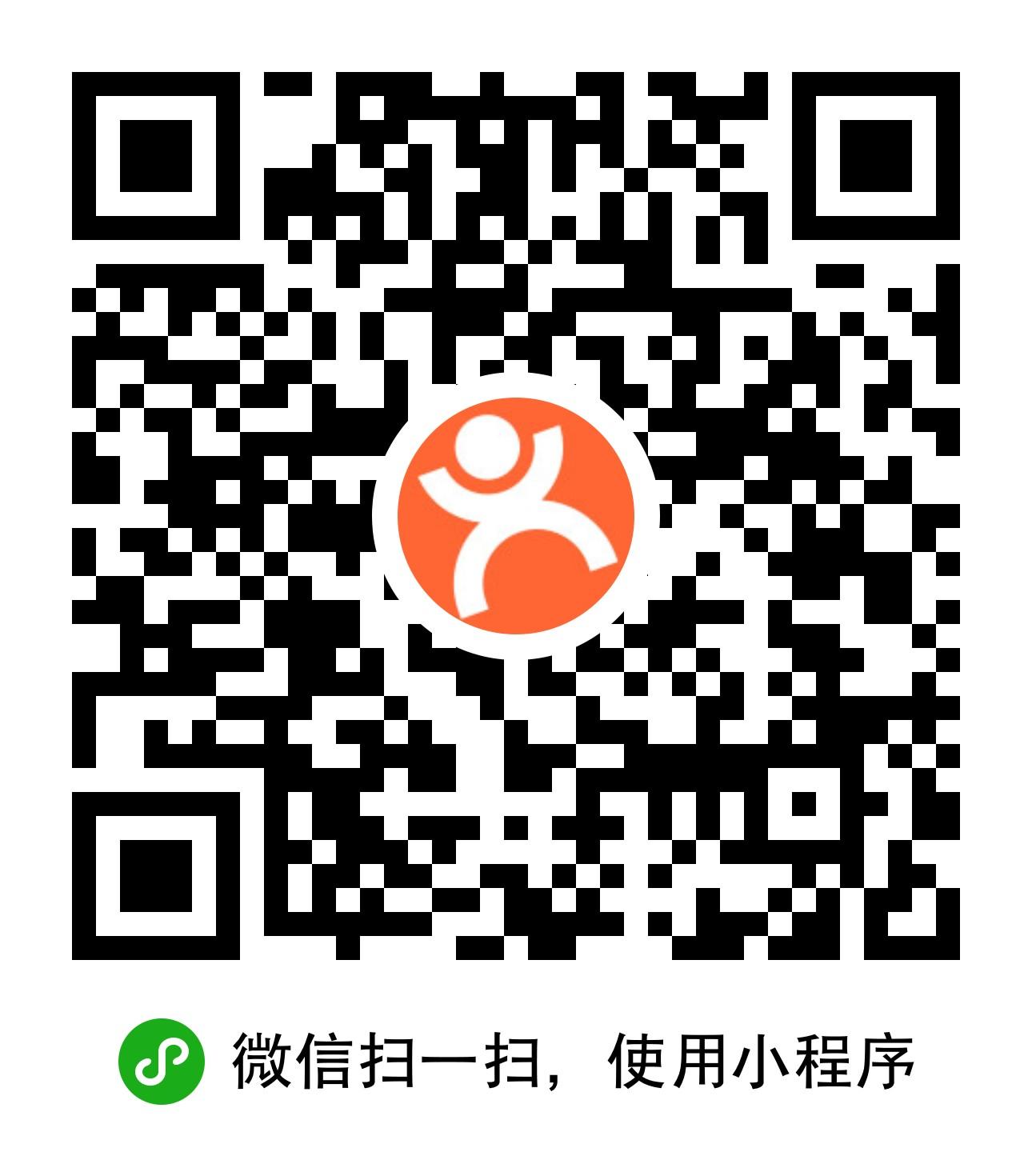 大众点评美食电影运动旅游门票-微信小程序二维码