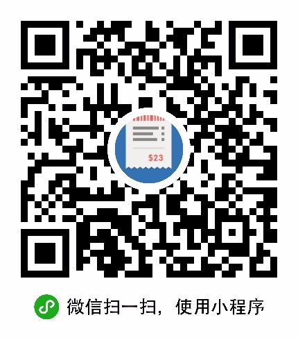 外卖帮计-微信小程序二维码