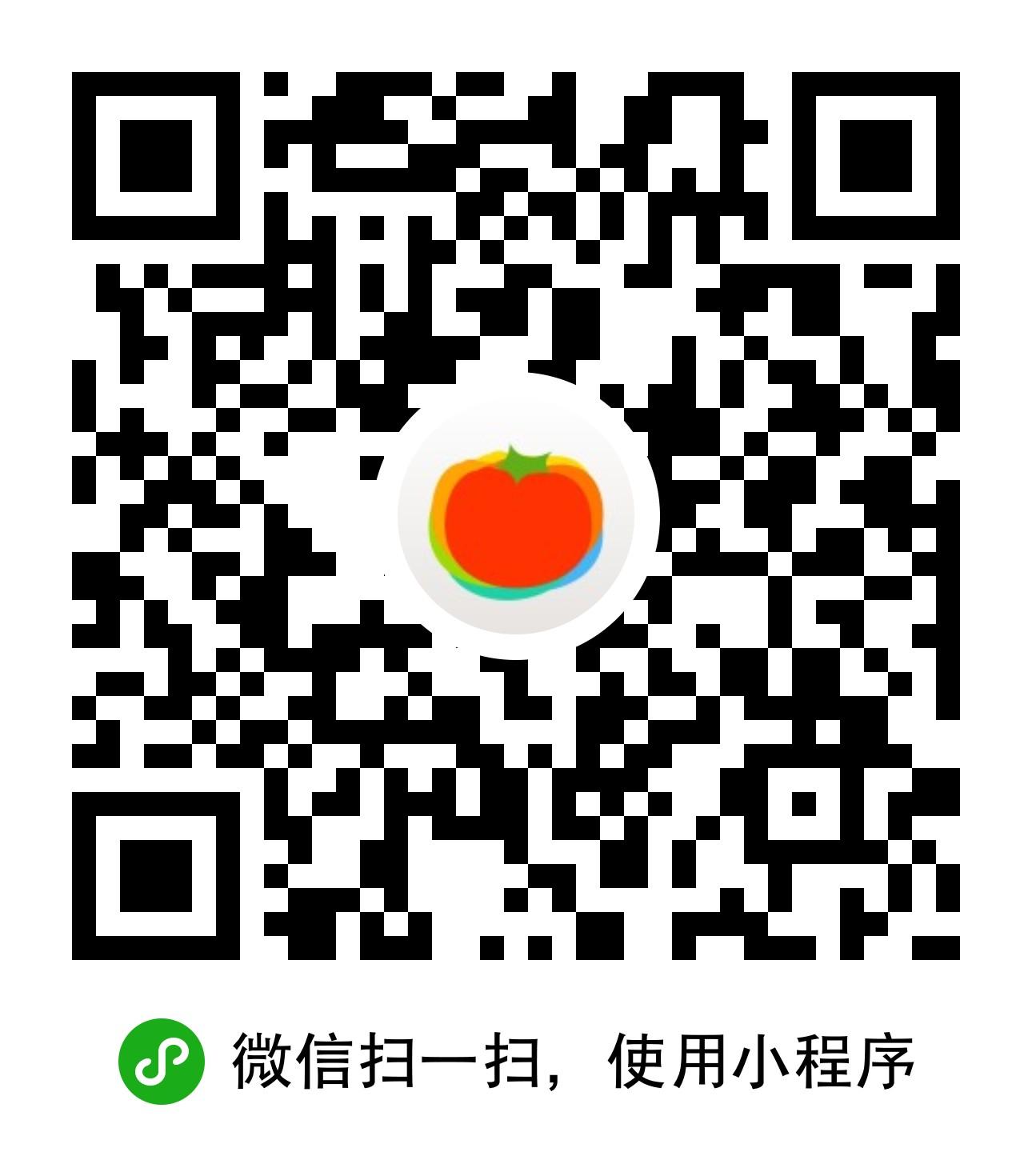 薄荷食物库-微信小程序二维码