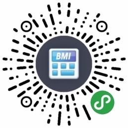 成人男性体重指数BMI-微信小程序二维码