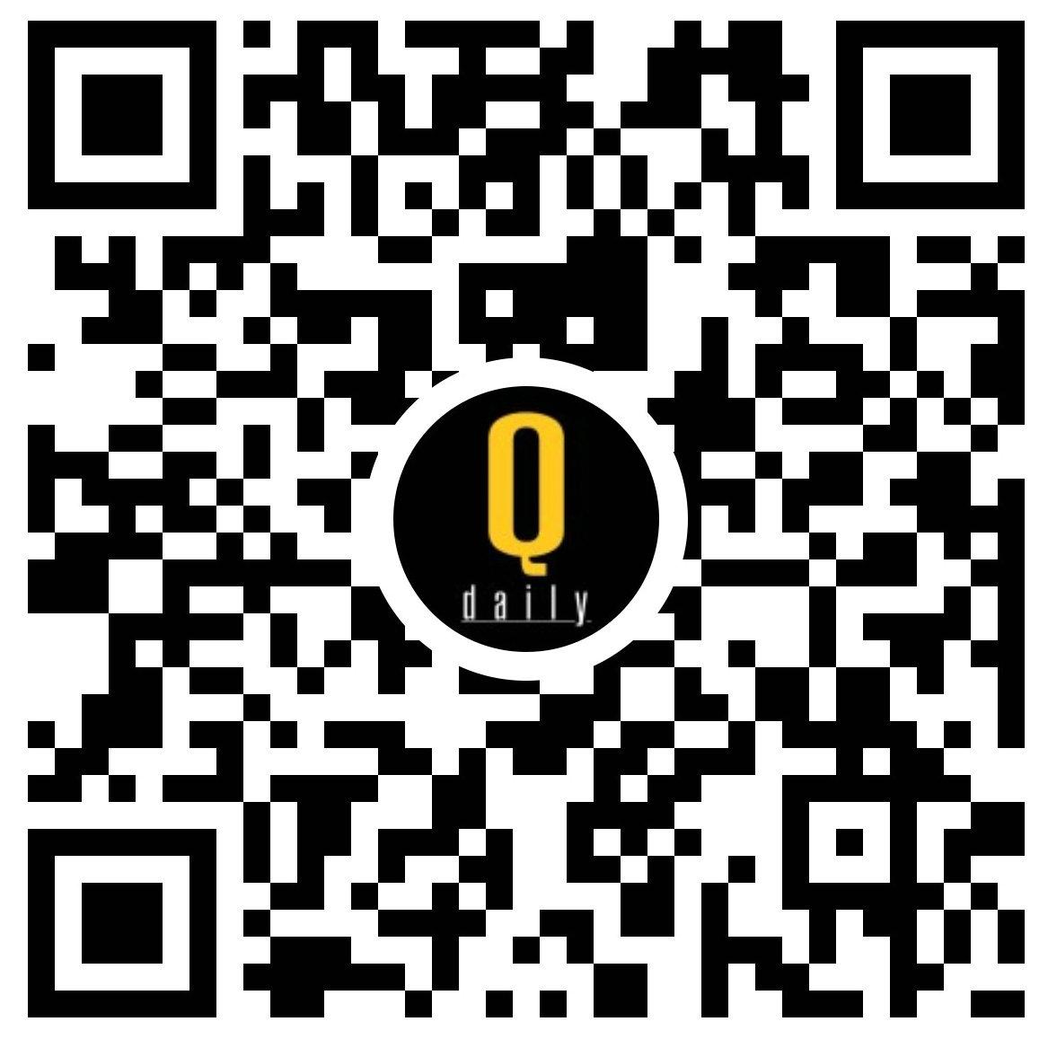 Qdaily-小程序二维码