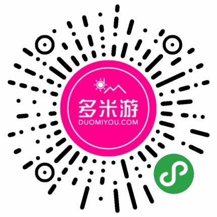 多米游高端别墅酒店主题度假定制-微信小程序二维码