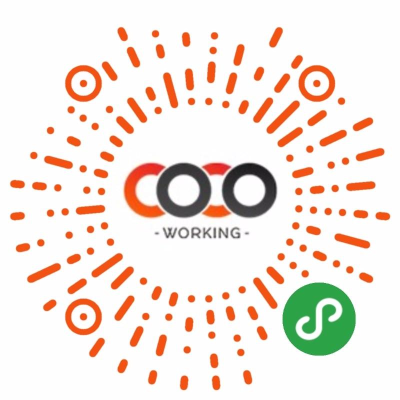 cocoworking-微信小程序二维码