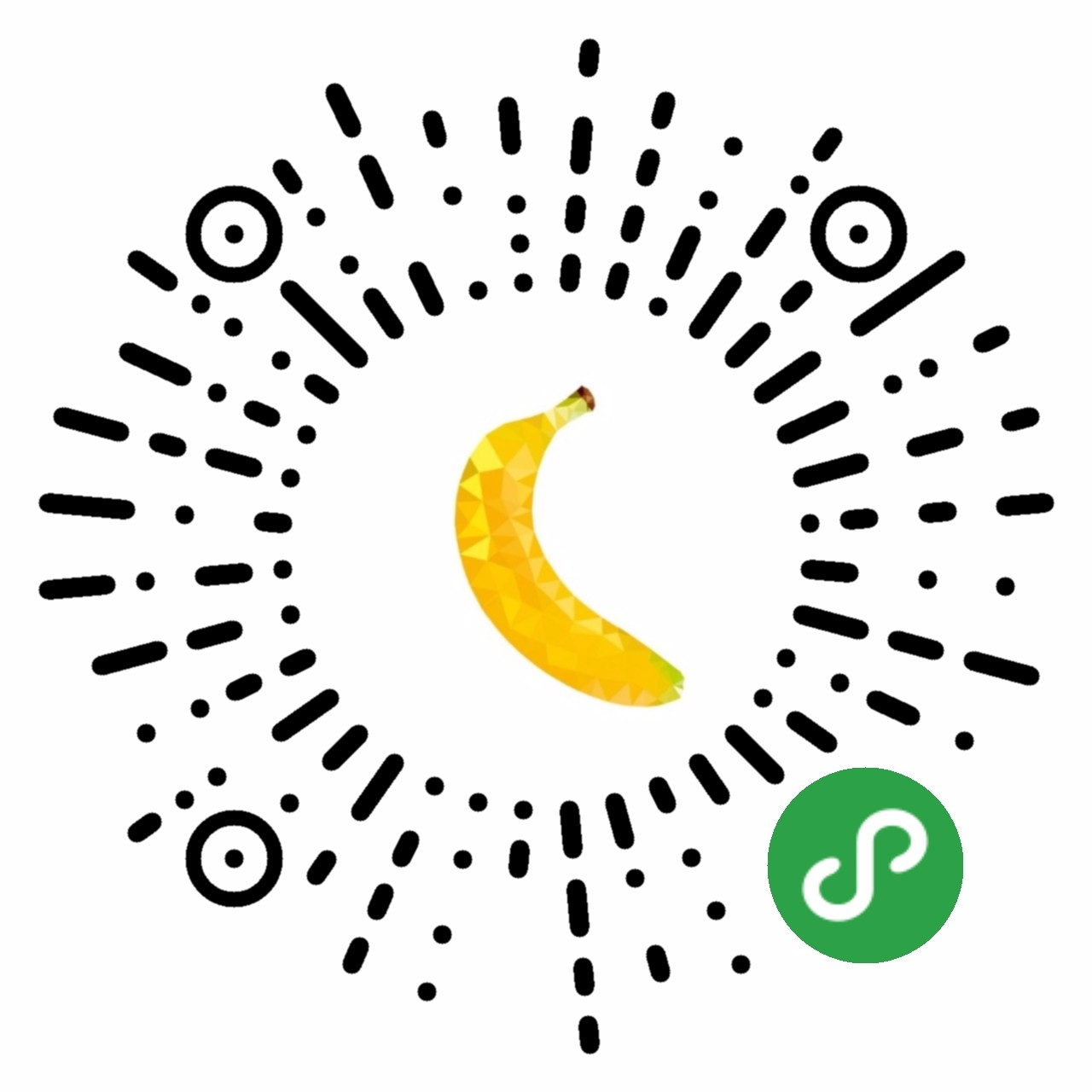 香蕉打码-微信小程序二维码