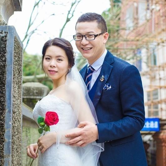 黄蛟龙& 陈晨❤我们结婚啦!微页模板