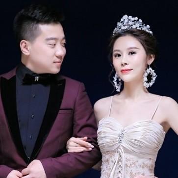 董帅-蔡多的婚礼邀请函微页模板